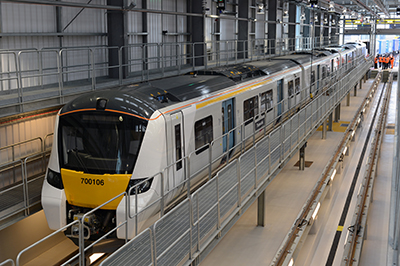 First Class 700 Desiro City train arrives in UK for Thameslink service
