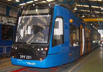 South Yorkshire welcomes UKs first Tram Train