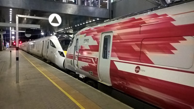 First electric train tested on Great Western Railway