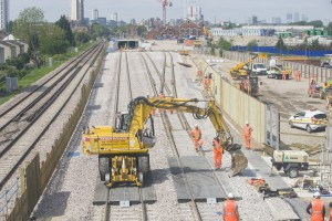 First mile of dedicated Crossrail track complete