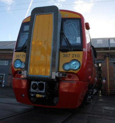 First new Gatwick Express Class 387/2 EMU enters service