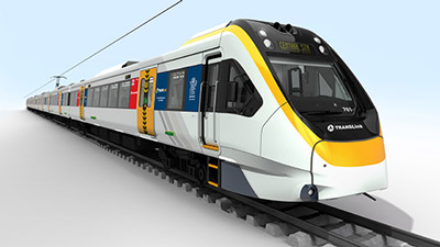 First of 75 new Queensland EMUs arrives in Brisbane for commuter service