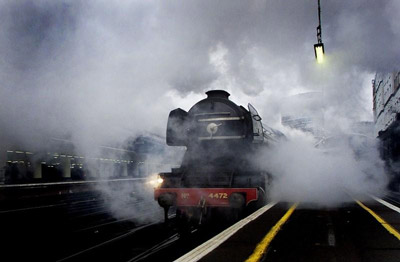 Flying Scotsman returns to East Coast Main Line