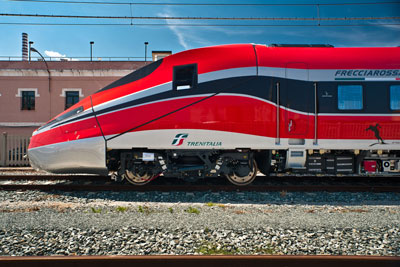Frecciarossa 1000 high speed train makes inaugural journey