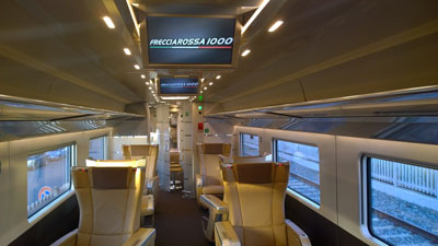 Frecciarossa 1000 High Speed Train