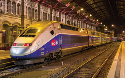 French Railway Reform - SNCF Train