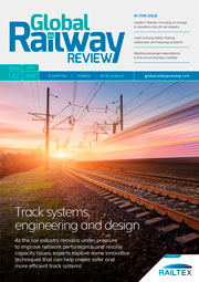 Global Railway Review issue 2 2019 cover