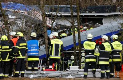 German train crash fatalities increases to nine