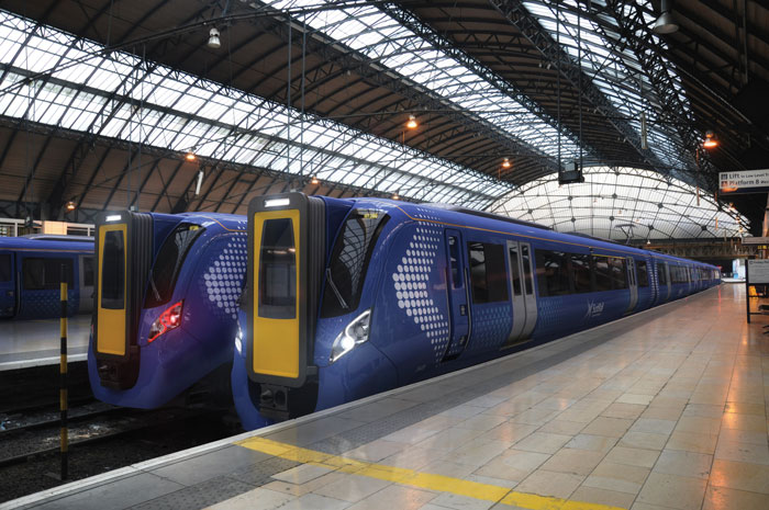 Faster, longer, greener trains for passengers in Scotland