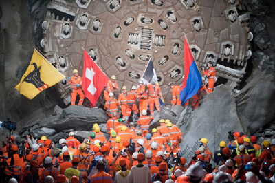 Gotthard Base Tunnel officially opens