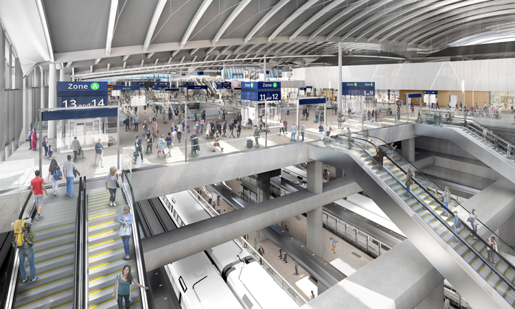 HS2 Old Oak Common station construction plans submitted