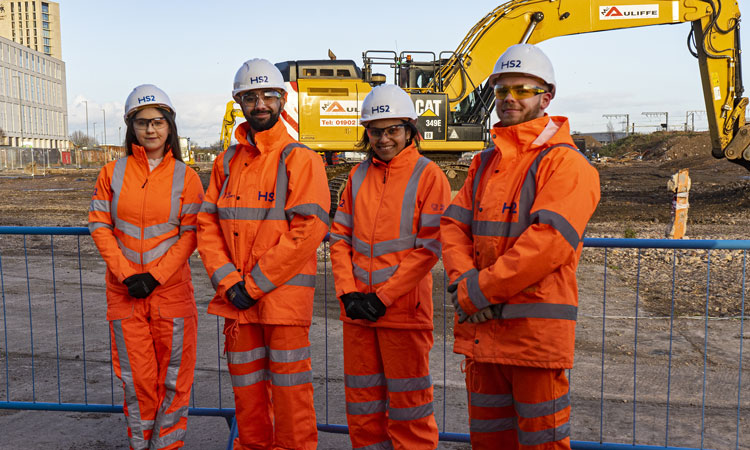 HS2 achieves Gold Standard for workforce equality and diversity