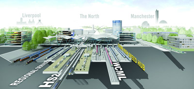 HS2 rail line to Crewe will open 6 years ahead of schedule
