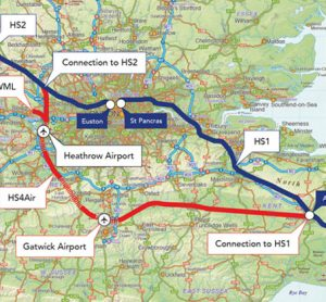 An HS4Air proposal has been revealed for South East England