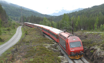 JBV now creates and manages Norway's railway timetables with HaCon's Train Planning System TPS. (Photo: Jernbaneverket)