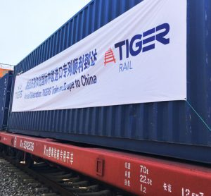 New Silk Road rail freight service cuts costs and transit times