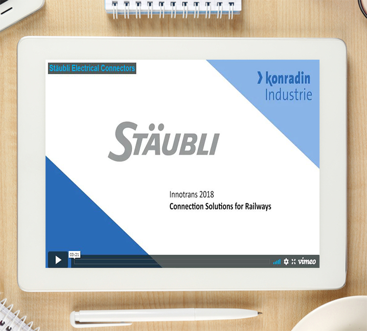 Video interview with Stäubli: How efficient connection solutions help shorten maintenance time