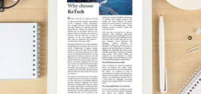 Why choose KeTech