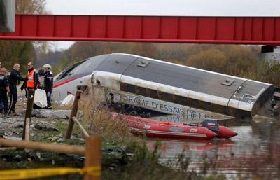 High-speed TGV derails on test run near Strasbourg
