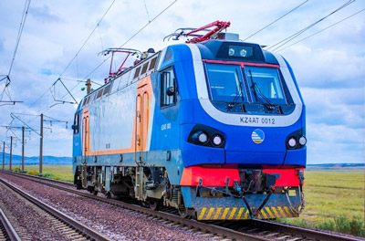High-speed record set in Kazakhstan with KZ4AT locomotive
