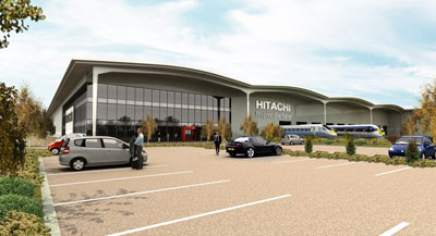 Hitachi train manufacturing facility opens in the North East