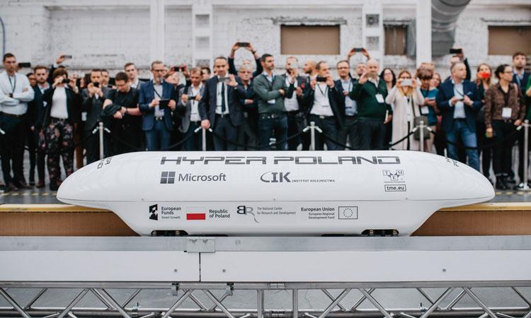 Hyper Poland seeks further funding to fund next generation high-speed rail testing