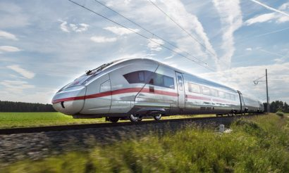 ICE 4 long-distance train for Deutsche Bahn unveiled