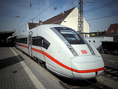 ICx high-speed train begins tests on German rail network