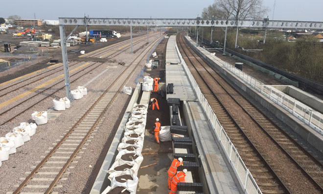 Cambridge's new station is taking shape