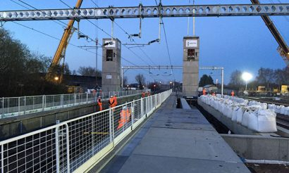 New Cambridge North railway station is taking shape