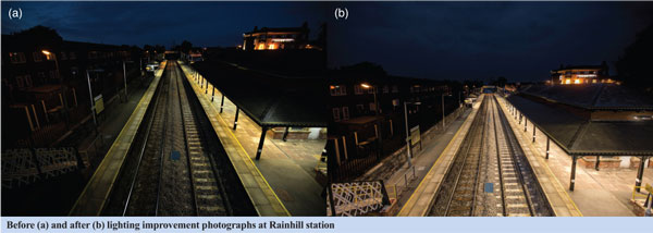 Improved lighting at Rainhill station increases satisfaction Image 1