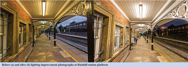 Improved lighting at Rainhill station increases satisfaction Image 2