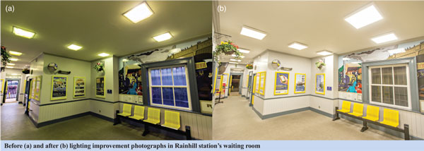 Improved lighting at Rainhill station increases satisfaction Image  3