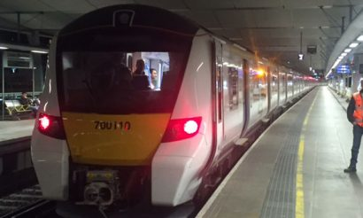 In-cab signalling system for Thameslink Programme