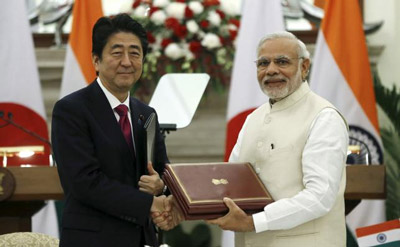 India signs high speed rail agreement with Japan
