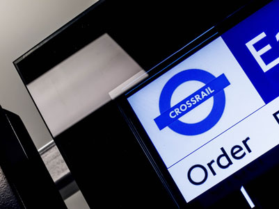 Infotec to create Crossrail passenger information displays