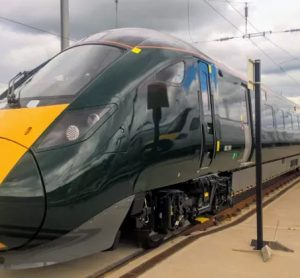 Intercity Express Trains testing