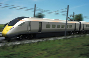 state-of-the-art intercity train