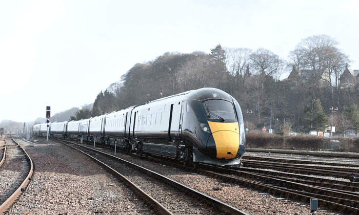 The new Intercity Express train has arrived in Inverness