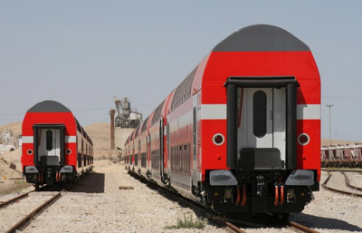 Israel Railways orders 60 additional TWINDEXX Vario Double-Deck Coaches