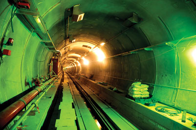 The Liefkenshoek Rail Link has the longest rail tunnels in Belgium