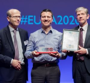 CEO of Lineas wins 2020 European Railway Award
