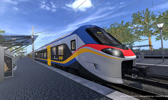 Alstom presents Coradia Stream to NS and Trenitalia