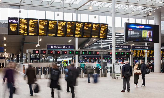 Free Wi-Fi for customers in London Bridge station
