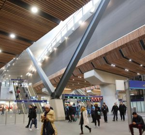 London Bridge station has been named building of the year