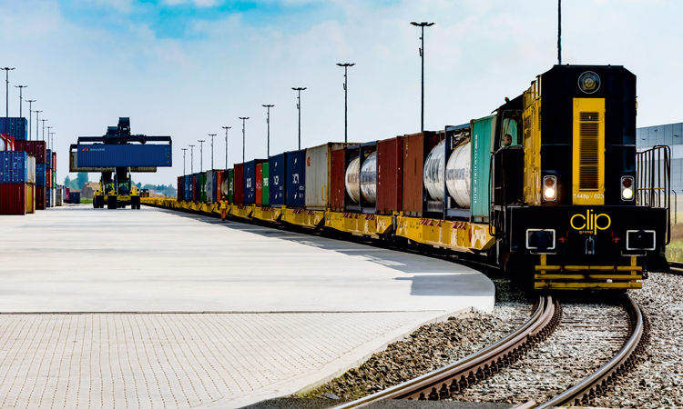 Luxembourg to Poland rail motorway train freight line launched