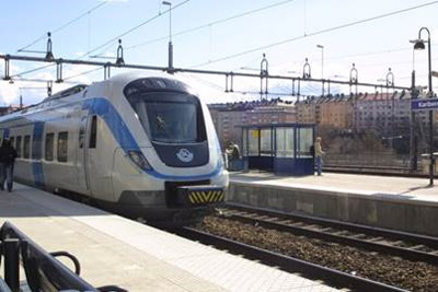 MTR to operate Stockholm Commuter Rail Service