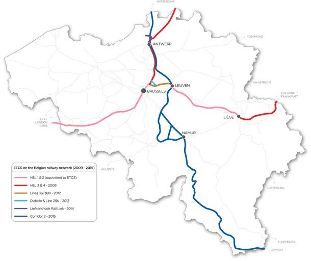 Infrabel tests new infrastructure for the Liefkenshoek Rail Link – Belgium Railway Map