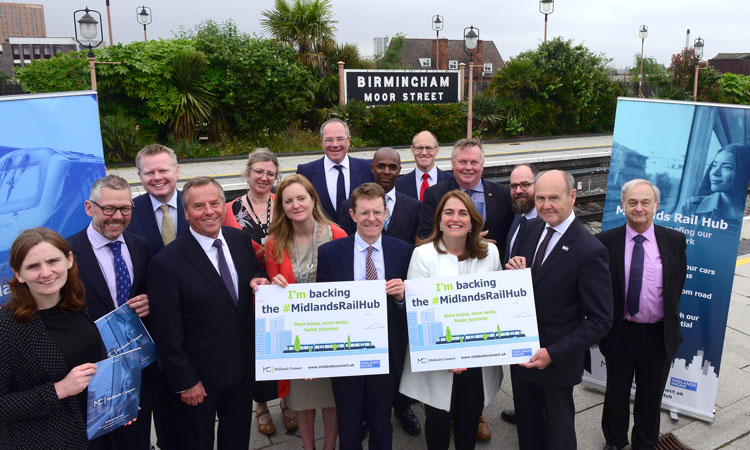 UK Chancellor's Budget awards £20 million to Midlands Rail Hub