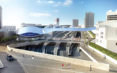 Moving towards the opening of Birmingham New Street station